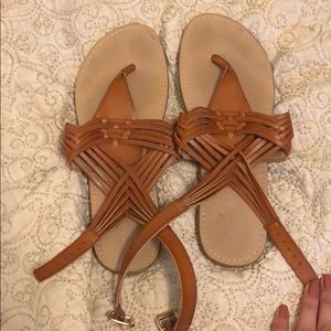 Strapped mossimo sandals